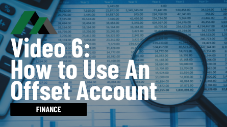 how to use an offset account